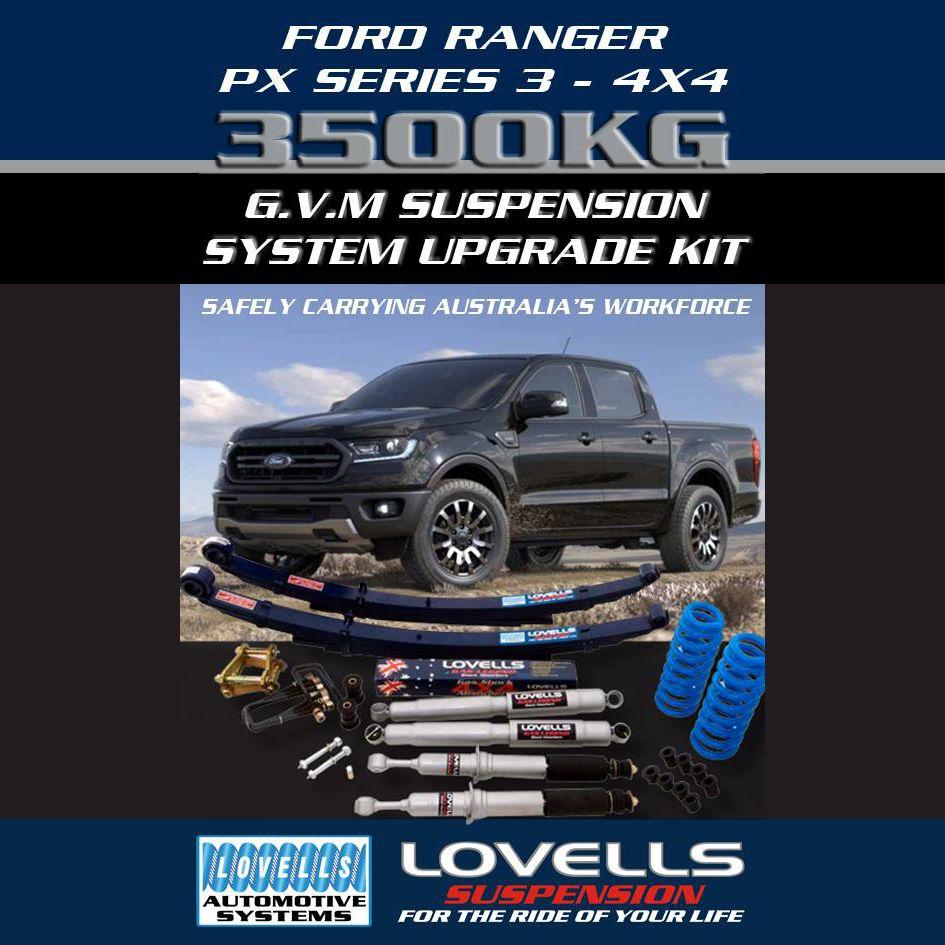 ford ranger, mazda bt50, gvm upgrade, lovells,