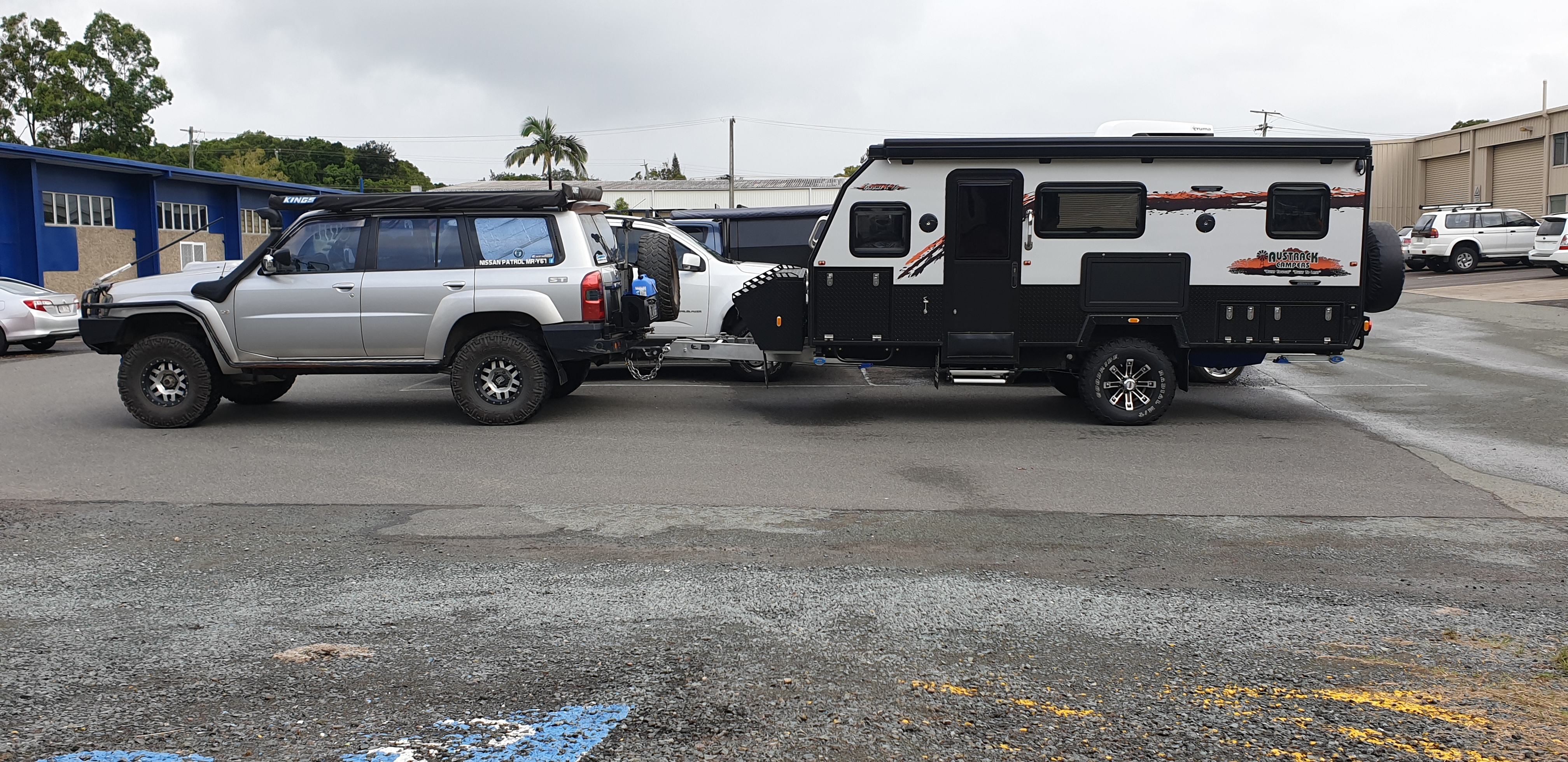 Lovells camper suspensions Austrack tanami x15, power curve performance, towing